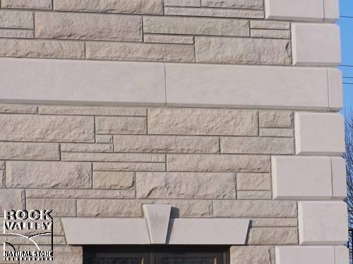 Sawn Bed Building Stone Veneers : Indiana Limestone Sawn Bed